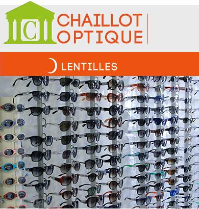Chaillot optique lentilles de contact pas chères en ligne.