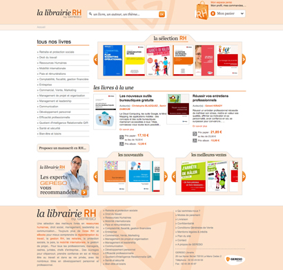 La librairie RH by GERESO