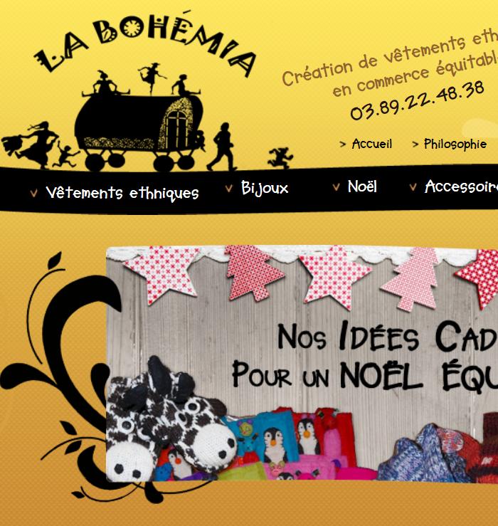"Vêtements ethniques La Bohémia"""""