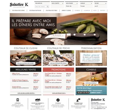 Couteaux Sabatier K